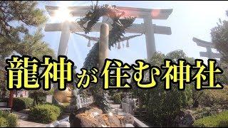 龍神の住む神社 金運 開運 財運のパワースポット パワースポットひとり旅#19 香川県  4K