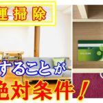 【運気上昇】金運・開運の掃除のポイントはここ!人生が絶対に変わる方法!【ミニマリスト】