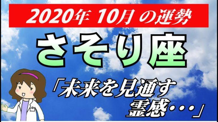 【蠍座運勢】2020年10月の恋愛運・仕事運・金運・全体運を占う【さそり座を西洋占星術で占う】