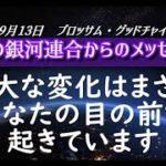 【スピリチュアル】ブロッサム・グッドチャイルド経由 ~光の銀河連合からのメッセージ~ 2020年9月13日 音声入り《 幸せの法則 》