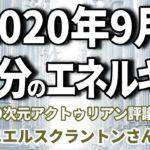 【スピリチュアル】2020年9月のイクイノックス/秋分の日のエネルギー ~∞9次元アクトゥリアン評議会~ ダニエル・スクラントンさん経由 音声入り《 幸せの法則 》