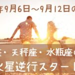 9月6日~9月12日の運勢💗双子座・天秤座・水瓶座の運勢&火星逆行のテーマ✨全体運💫仕事運&金運💕恋愛運