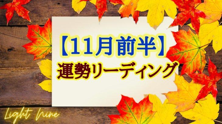 【11月前半】運勢リーディング💕どんな良い流れを体験するかな?💕タロットカード・オラクルカード💕