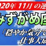 【水瓶座運勢】2020年11月の恋愛運・仕事運・金運・全体運を占う【みずがめ座を西洋占星術で占う】