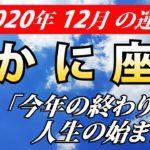 【蟹座運勢】2020年12月の恋愛運・仕事運・金運・全体運を占う【かに座を西洋占星術で占う】
