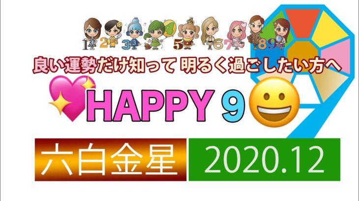 【九星気学風水】2020年12月HAPPY運勢 「六白金星さん!何でもできるぅ~♡」