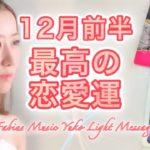 【12月前半】恋愛 あなたの最高の恋愛運  高波動音楽 高次元メッセージ Fabius Yuko ツインレイ