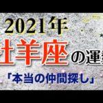 【占い】2021年 牡羊座(おひつじ座)の運勢を占う!【西洋占星術・タロット・易】