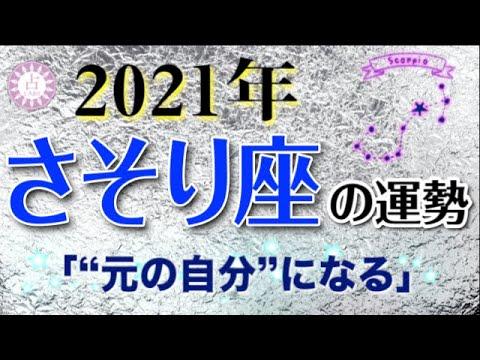 【占い】2021年 蠍座(さそり座)の運勢を占う!【西洋占星術・タロット・易】